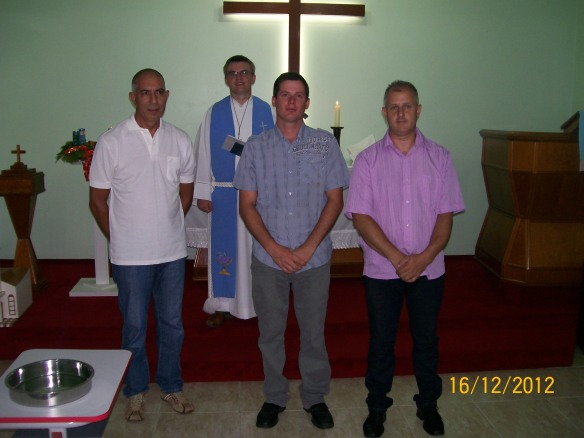 profissão de fé - celst - 2012