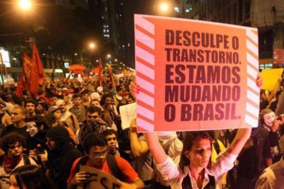 protestos brasil 2013