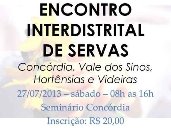 encontro interdistrital 2013