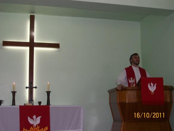 Pastor Claudio S. S. Santos (2004-2007)